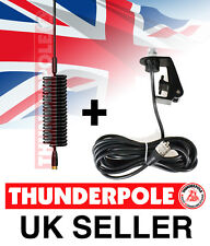 Thunderpole Mini Orbitor Aerial & Gutter Mount Kit   Springer CB Radio Antenna