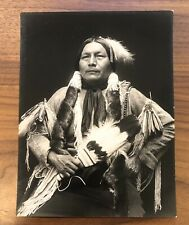 1926 RARE DeLancey W. Gill Photo Commanche Albert Attocni At-Tock-Nie Lone Tipi