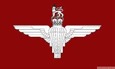 "PARACHUTE REGIMENT mini flag 9"" x 6"" 22cm x 15cm flags BRITISH ARMY MILITARY"