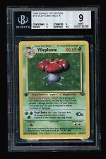 Vileplume 1st Edition Jungle Holo Pokemon BGS 9.0 Mint #0009730286