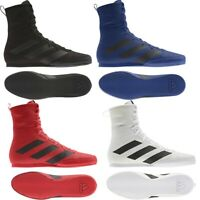 Adidas Box Hog 3 Boxing Boots Mens Womens Sports Shoes Sparring Sizes 5 - 12 UK
