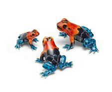 More details for saturno sterling silver and enamel poison dart frog  - fully hallmarked