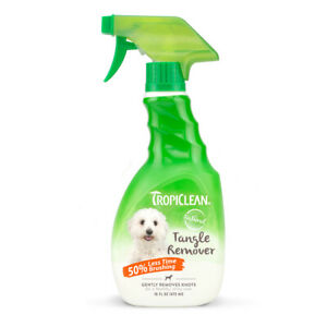 TropiClean Tangle Remover 473ml - Spray Dog Cat Natural