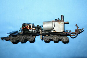 American Flyer S Gauge Hudson Tender Frame w/Smoke in Tender Unit. Working