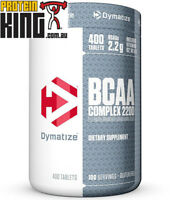 DYMATIZE BCAA COMPLEX 2200 AMINO ACIDS 400 TABS BRANCHED CHAIN AMINOS SAN BSC