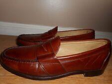 Allen Edmonds Cameron Men's Amaretto Leather Dress Casual Loafer Shoes Size 9.5B