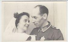 (F1029+) Orig. Foto Wehrmacht-Soldat, Hochzeit, 1940er