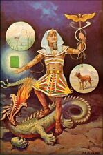 Emerald Tablet of Hermes : J. Augustus Knapp  :  circa 1895  :  Fine Art Print