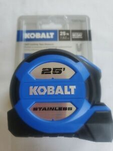 Kobalt 25ft Self Locking Dual End Hook Stainless Tape Measure #0857852