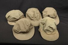5x Wwii Korea Us Army Military Surplus Uniform Cap Field Cotton Od Visor Size 7