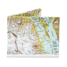 The Mighty Wallet Explorer Tyvek Paper Slim Money Dynomighty Map