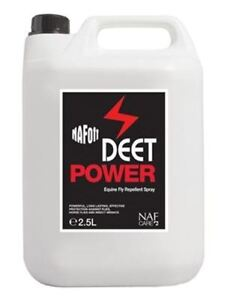 NAF  Deet Power Horse Fly Spray 2.5 ltr Refill - **FREE UK Shipping**