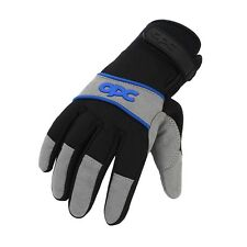 Vauxhall OPC Gloves, Black/Blue, Size L, Corsa, Astra, Insignia, NEW
