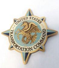 UNITED STATES TRANSPORTATION COMMAND DEPUTY COMMANDER CHALLENGE COIN 3 STAR