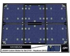 Lego® Custom Pre-Cut Sticker for Lego Ideas set 21101 - Hayabusa (2012)
