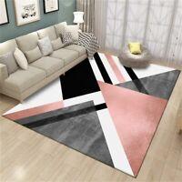Nordic Geometric Carpet Modern Living Room Rug Bedroom Hallway Non Slip Mats New