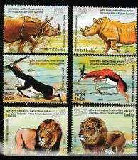 Wild Animals Indian/African set of 6 mnh stamps 2015 India #2747-52