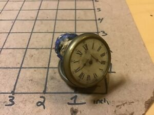 Original Victorian mini Jack in the Box Toy Unusual - Lady in Watch - WOW