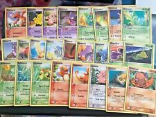 CARTE POKEMON EX RFVF - LOT DE 45 CARTES CO/UNCO ROUGE FEU ET VERT FEUILLE - VG