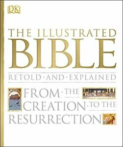 (Very Good)-The Illustrated Bible (Hardcover)-DK-1405391383