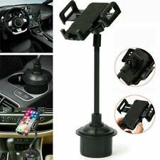 Universal Adjustable Gooseneck Cup Cradle Car Mount Holder For Cell Phone GPS