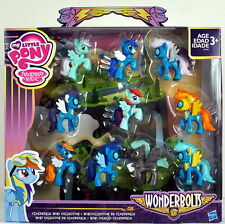 Exclusive My Little Pony Wonderbolts Cloudsdale Mini Collection 10 Figures Set