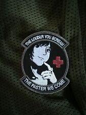 """Tshirt TAN /"""" MEDIC /"""" medical NURSE surgeon MEDIC airsoft DOC SNAKE PATCH"""