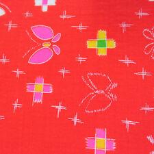 T61 Pretty japonais robe tissu; laine Batiste; intérieurs, enfants; 1MX37CM