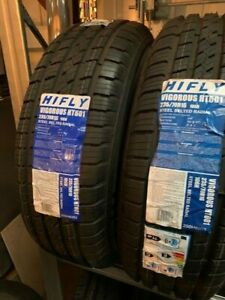 2 x Hifly Vigorous HT601 Tyres 235/70R16 106H, Brand New.