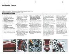 Motorcycle Data Sheet - Honda - Valkyrie Rune - 2004 Specifications (DC640)