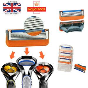 5-layer Razor Blade for Gillette Fusion Proglide Power Replacement Men Shaver UK