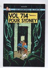 Tintin. Carte postale VOL 714 POUR SYDNEY couverture. Moulinsart 090 - 2001