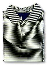 FAIRWAY & GREENE Insperity Championship Golf Men's Large Blue Yellow S/S Polo