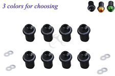 8x Windscreen Windshield Bolt Screw Nuts Kits For Honda Suzuki Yamaha Kawasaki
