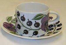 Kaipiainen Paratiisi Stockmann Special Purple Tea Cup & Saucer Arabia Finland