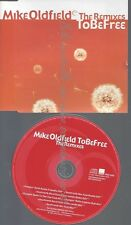 CD--MIKE OLDFIELD --TO BE FREE--THE REMIXES--PROMO--7 TRACKS