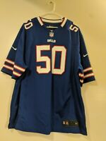 "Kristian ""Kiko"" Alonso #50 Buffalo Bills NFL Nike On Field Jersey Men's XXL Used"