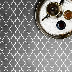 MARRAKECH Moroccan Dizzy Duck Stencil - Furniture Craft Stencil for Paint