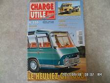 CHARGE UTILE N°116 HEULIEZ GT 1000 RED BALLL EXPRESS  K42