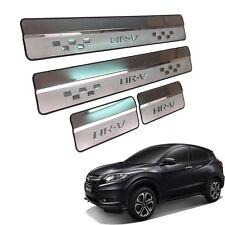 Fit 15 2016 Honda Hr-V Hrv Vezel Suv Door Sills Scuff Plate Door Step Chrome
