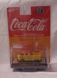 KKar M2/Castline - 2018 Coca-Cola - 1959 VW Double Cab USA Model - Yellow & Red