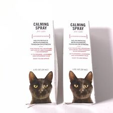2-Boxs ! Well and Good Calming Spray for Cats 1 oz Lavender Scented. 3C122