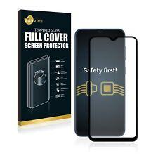 Full Cover Samsung Galaxy A40 Schutzpanzer Glasfolie 9H Panzerfolie schwarz