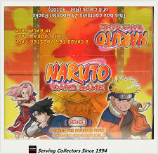 Naruto Series 1 Card Game Booster Factory Box (24 packs)- 2006 Bandai (Belgium)
