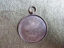 Silver Fob -- H.M.S Constance -- Football -- 1923 -- C. Taylor -- Military