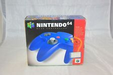 Nintendo 64 Blue Controller BOX ONLY NO CONTROLLER INCLUDED