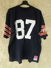 Maillot foot US CHICAGO BEARS n°87 GSH vintage shirt Sand-Knit jersey XL