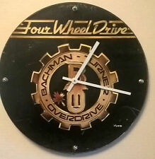 Bachman Turner Overdrive BTO Four Wheel drive front cover  Rock Clock 11.5""