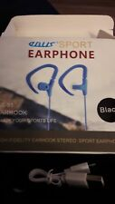 Abus Earhook Sports Earphones Bluetooth Black