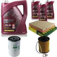 Paquete de inspección 8 l MANNOL energy combi ll 5w-30 + hombre filtro paquete 10935192